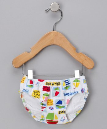 Beach Party Swim Diaper - Infant & Toddler