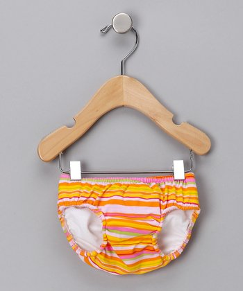 Cabana Stripe Swim Diaper - Infant
