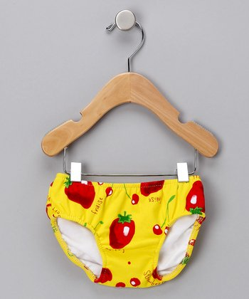 Cherry Berry Swim Diaper - Infant