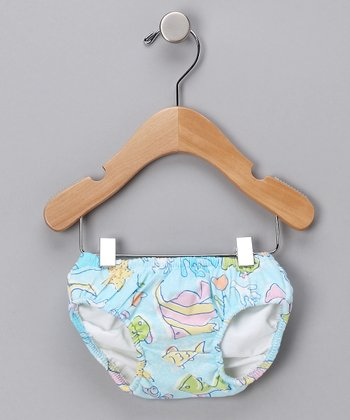 Fish Fantasy Swim Diaper - Infant