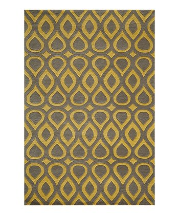 Gray Rhoda Wool Rug