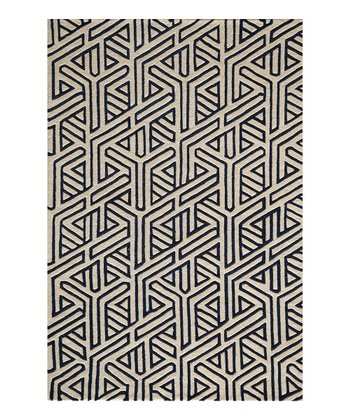 Navy Halsted Wool Rug