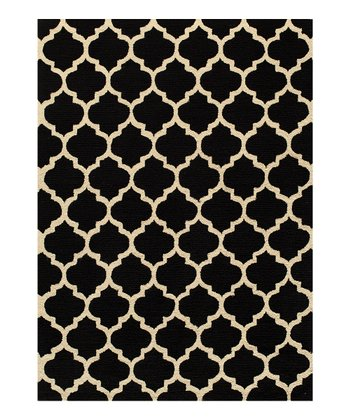 Black Thorndale Rug