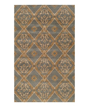 Blue Stockton Wool Rug