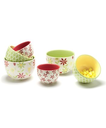 Pastel Nested Bowl Set