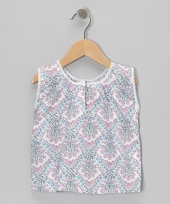 Purple Valencia Bluna Top - Toddler & Girls