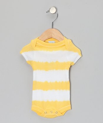 Yellow Stripe Bodysuit - Infant