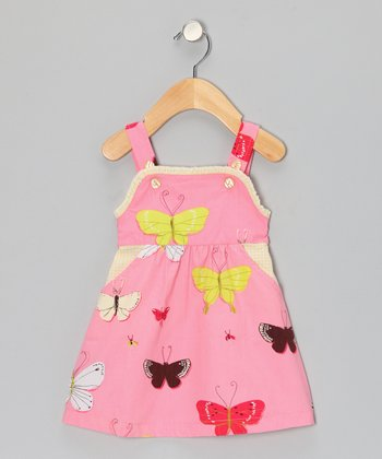 Pink Butterfly Jumper - Infant