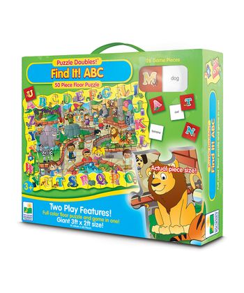 Puzzle Doubles! Find It! ABC Puzzle