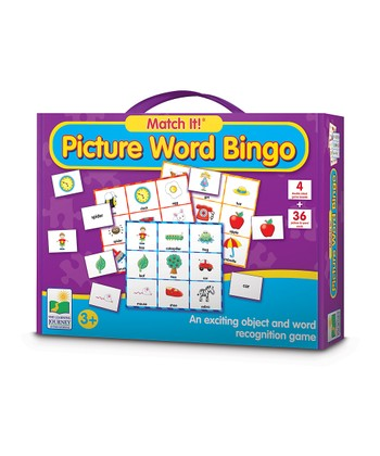 Match It! Picture Word BINGO Card Set