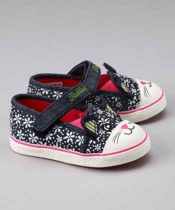 Dark Denim Kitty Shoe