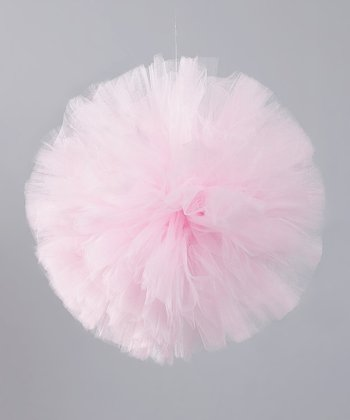 Light Pink Hanging Pom-Pom