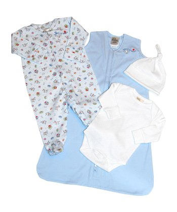 Blue Take Me Home SleepSack Set