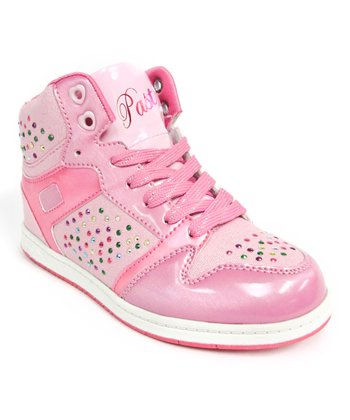Pink Glam Pie Galactica Hi-Top