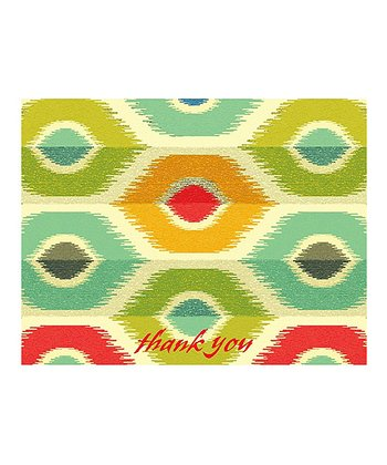 Market Bazaar Thank You Note Card Set