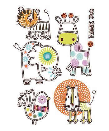 Animals Thank You Note Set