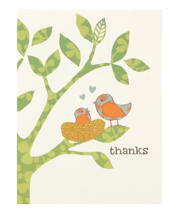 C.R. Gibson Nesting Thank You Card Set