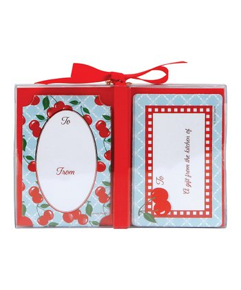 Kitchen Cherry Kitchen Label - Set of 36