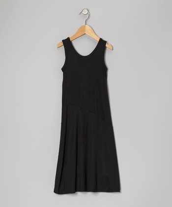 Black Maxi Dress - Toddler & Girls
