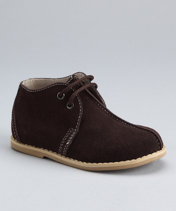Dark Brown Fudge Ripple Suede Chukka Boot