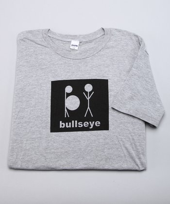 Heather Gray 'Bullseye' Tee - Men