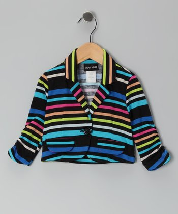 Royal Stripe Jacket - Toddler