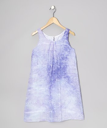 Lilac Cloud Dress - Girls