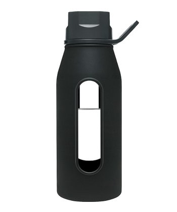 Black 16-Oz. Classic Glass Water Bottle