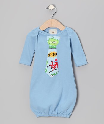 Hero Tie Baby Gown - Infant
