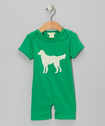 Green Dog Organic Romper - Infant