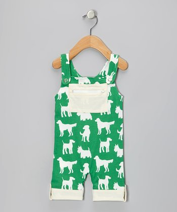 Green Dog Organic Pocket Overalls - Infant