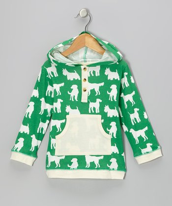 Green Dog Organic Henley Hoodie - Infant