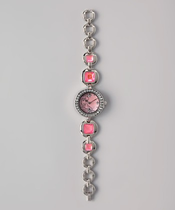 Pink Princess Analog Watch