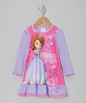 Pink Sofia the First Nightgown - Toddler