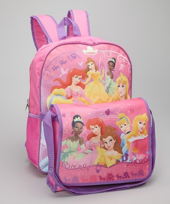 Pink Disney Princess Backpack