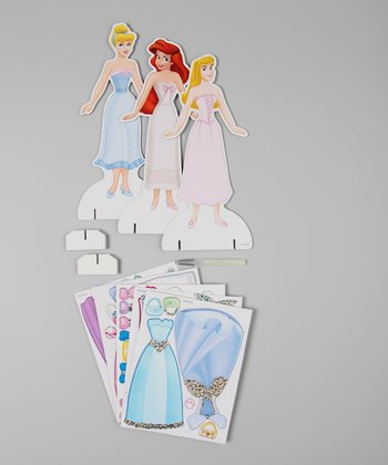 Sparkling Fashion Friends Magnetic Paper Doll Set