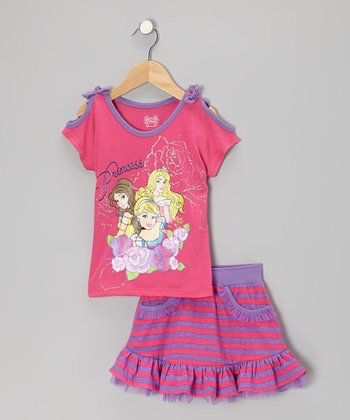 Pink Princess Tee & Skort - Toddler & Girls