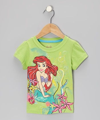 Lime Green Ariel Tee - Toddler