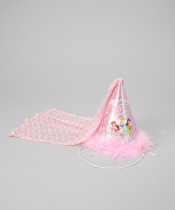 Pink 'Birthday Princess' Cone Hat