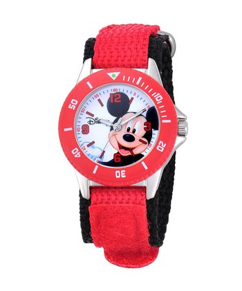 Red Mickey Mouse Watch