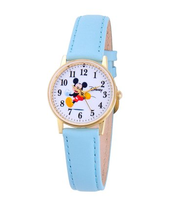 Blue Mickey Mouse Watch
