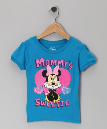 Blue Minnie 'Mommy's Sweetie' Tee - Infant & Toddler