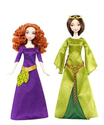 Merida & Elinor Doll Set