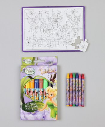 Fairies Color Your Own Puzzle Set