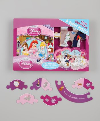 First Look & Find: Princess Jewels Board Book & Puzzle