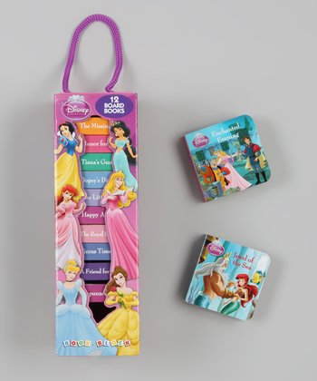 Disney Princess Block Tower Board Book Set