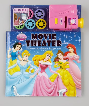 Disney Princess Movie Theater Storybook & Movie Projector Set