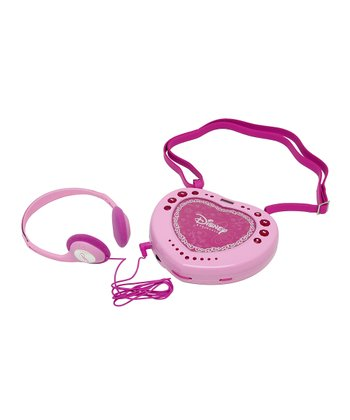 Pink Portable CD Player