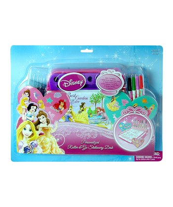 Princess Roller & Go Stationery Desk Set