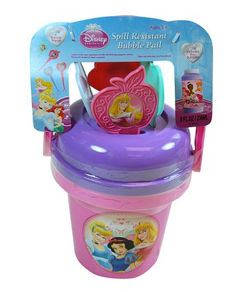 Princess Bubble Bucket Set